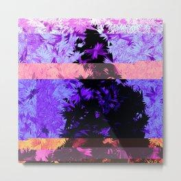 purple sapta Metal Print