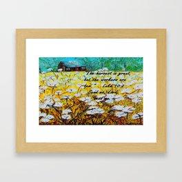Send Me Framed Art Print