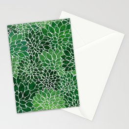 Floral Abstract 23 Stationery Cards