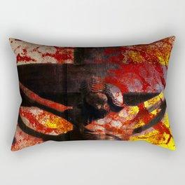 Nel Mondo che faremo Dio è risorto Rectangular Pillow