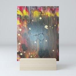 Abstract Flames Mini Art Print