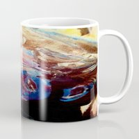 grateful dead Mugs featuring Phil Lesh Acrylic Painting Grateful Dead and Furthur by Acorn
