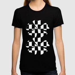 Black White Checker T-shirt