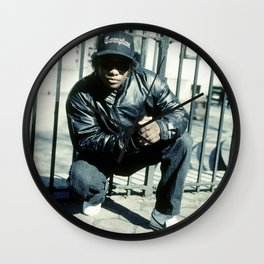 Eazy Classic Rap Photography Wall Clock