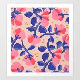 Lisbon Floral Art Print