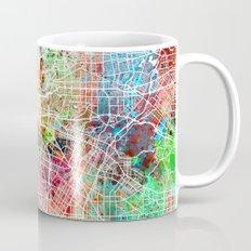 Los Angeles map california Mug