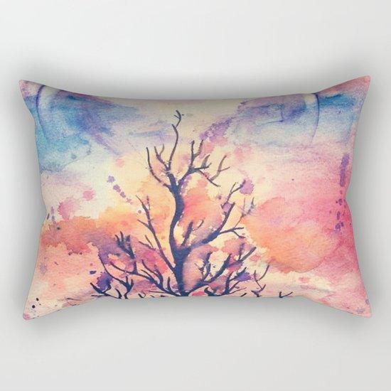 The tree of the innocence Rectangular Pillow