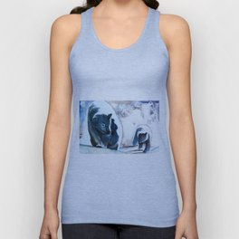 Bears - Don't be afraid, I'll show you the way... by LiliFlore Unisex Tank Top