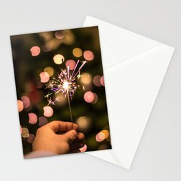 Sparkler (Color) Stationery Cards