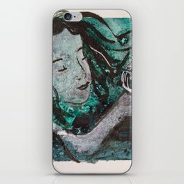And I Shall Call Him 'Spot'  ( Mermaid and fangtooth ) iPhone Skin