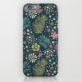 Mystical Forest (Teal and Lilac) iPhone Case