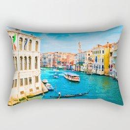 Italy. Venice lazy day Rectangular Pillow