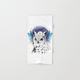 The Owl (Spirit Animal) Hand & Bath Towel