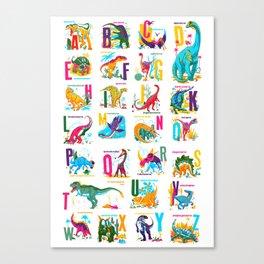 Alphasaurus Rex Canvas Print