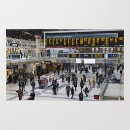 Liverpool Street Station London Rug