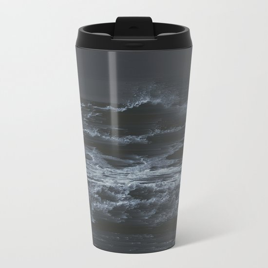 Blow it all Away Metal Travel Mug