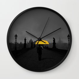 Hope in the dark Wall Clock