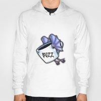 buzz lightyear Hoodies featuring BUZZ by 2headedsnake