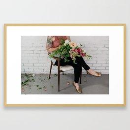 Find Yourslef Framed Art Print