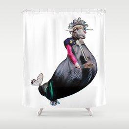 Royal Expectation Shower Curtain