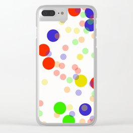 Colorful Seamless pattern Clear iPhone Case