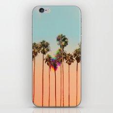 Glitch beach iPhone & iPod Skin
