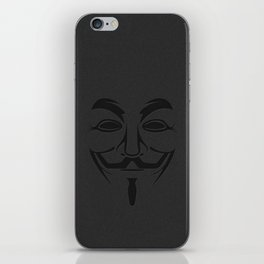 Minimalist Anonymous / Occupy / Guy Fawkes Mask  iPhone Skin