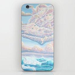 Les anges gardiens de l'amour iPhone Skin