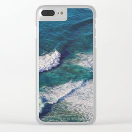 Waves Crashing Clear iPhone Case