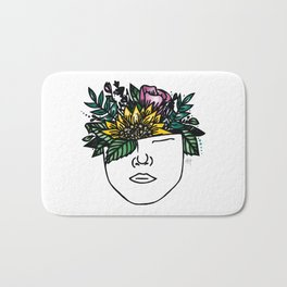 Thoughtful (Color) Bath Mat