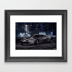 Liberty Walk Ferrari 458 Framed Art Print