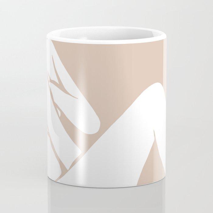 tan abstract nude 1 Coffee Mug