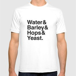 Beer Ingredients T-shirt