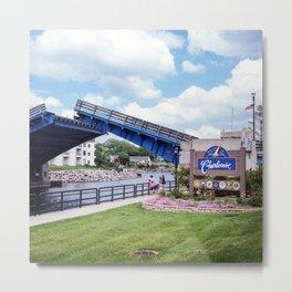 Charlevoix Bridge Metal Print