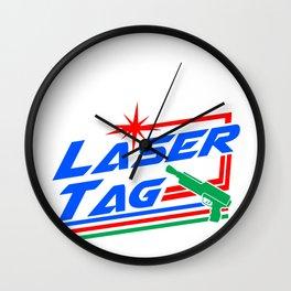 Laser Tag Game Sport Hobby Lazer Gun Gift Idea Wall Clock
