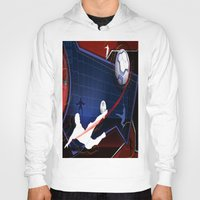 soccer Hoodies featuring Soccer by Robin Curtiss