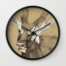 Blackbuck Wall Clock
