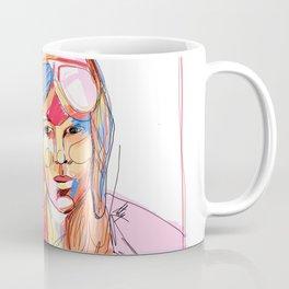 Amelia Earhart by Aitana Pérez Coffee Mug
