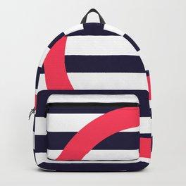 GEOMETRY RED&BLUE III Backpack