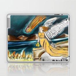 Karmic Angel of Fire Laptop & iPad Skin