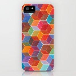 Hexagons iPhone Case