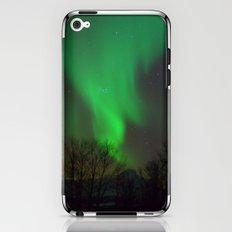 Northern Lights over Norway iPhone & iPod Skin