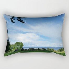 Triptychs III (Mind's Eye) Rectangular Pillow