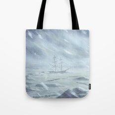 Pirate Ship - Siren Call detail Tote Bag