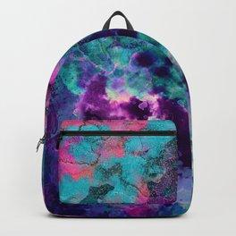 Inky Watercolor Paint Splash Backpack