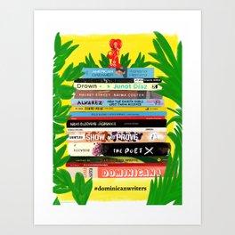 Dominican Writers Art Print