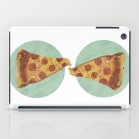 pizza iPad Cases featuring pizza by Sara Morán