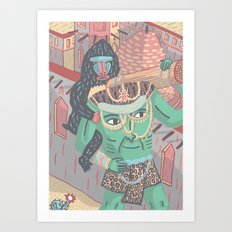 Gods and Monsters #2 The Blemmyes! Art Print