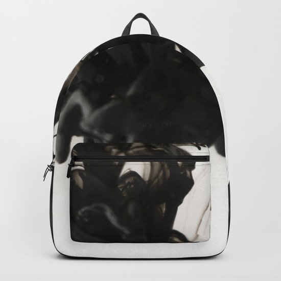 Ink #abstract #black Backpack