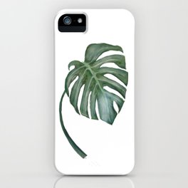 Monstera The One iPhone Case